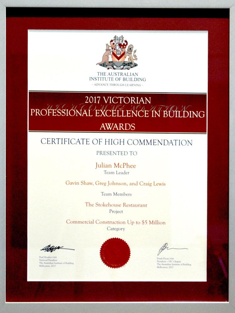 Lanskey Awards & Community Involvement | An Australian Company