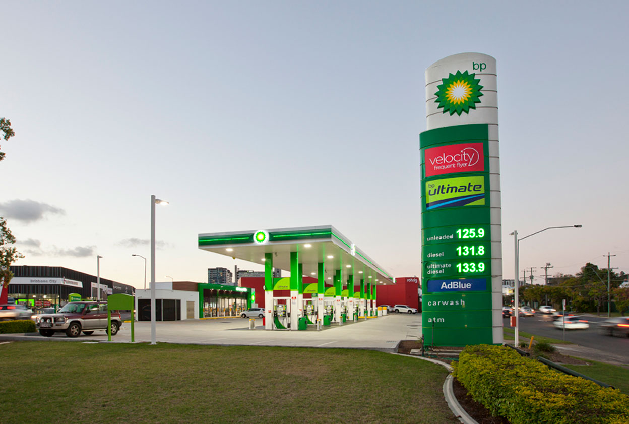 BP Service Station Bowen Hills QLD