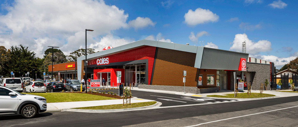 Coles Retail Centre Development Woodend